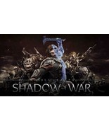 Shadow Of War PC Steam Key NEW Middle Earth Download Game Fast Region Free - $18.99