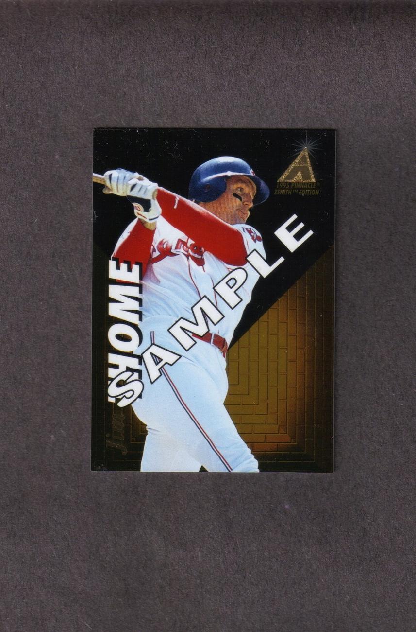 1995 Pinnacle Zenith Jim Thome Rare Promo Card