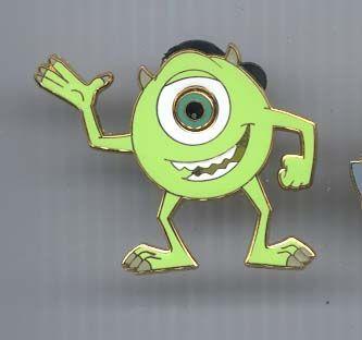 Disney WDW Monster's Inc Mike one Eye Monster  Pin/Pins