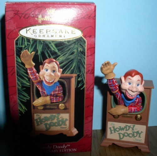 Howdy Doody ornament mint in the original box