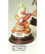 DisneyLaurenz Capodimonte Snow White Bashful Musician - $314.50