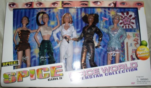 Spice Girls set of 5 dolls mint in the original box