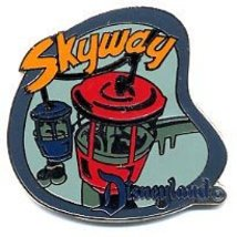 Disney DL - 1998  Attraction Skyway ride Pin/Pins - $39.99