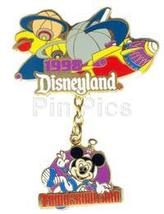Disneyland  1988  Tomorrowland Dangle ride Pin/Pins - $39.99