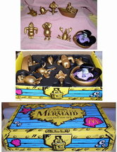 Disney Little Mermaid Gold Treasure Toys  rare - $49.99