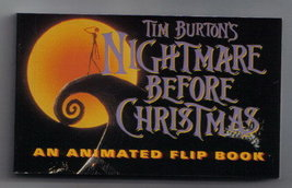 Disney Nightmare Before Christmas Animated Flip  Book - $14.84