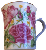 Lenox The Flower Blossom Mug Collection Rose by Suzanne Clee Fine Porcelain - $13.81