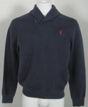 NEW! Polo Ralph Lauren Shawl Collar Sweatshirt! *5 Colors* Rib Knit Texture - $69.99