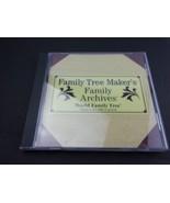Family Tree Maker: World Family Tree Pre-1600 to Present Volume 8  - $9.79