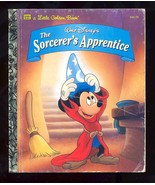 The Sorcerer's Apprentice  Disney Golden Book 1994 - $1.88