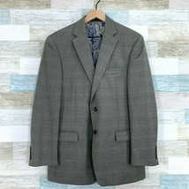 LRL Ralph Lauren Herringbone Sport Coat Gray 2 Button Notch Collar Mens ... - $57.41