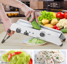 Mandoline Slicer Vegetable Grater Shredder Cutter Slice Vegetables Kitch... - €51,27 EUR