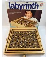 Vintage Wooden Labyrinth Board Game Estrella - $98.99