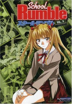 Primary image for School Rumble Vol. 03 DVD Brand NEW!