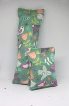 100% CatNip Filled Cat Pillow Toy Bundle Soaring Birds and Flowers - $11.99