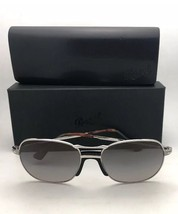 Polarized PERSOL Sunglasses 7649-S 1068/M3 53-18 145 Silver w/Grey Gradi... - $399.98
