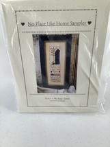 No Place Like Home Sampler Kit Counted Thread Design 2003 Raw Linen  Wee... - $17.75