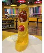 M&M's World Handheld Candy Dispenser yellow blue or Red Party favor Coll... - $49.49