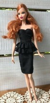 Vtg 1971/2003 Mattel BARBIE DOLL Side Parted Red Hair Brown Eyes Nails P... - $73.50