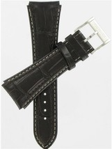 Hamilton 24mm Brown Padded Alligator Grain JazzMaster Watch Band H600365102 - $138.60