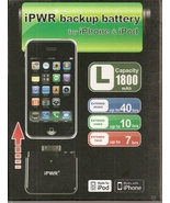 PWR 1800mAh iPhone backup battery - for iPhone 3GS, 3G, iPhone and iPod ... - $24.99