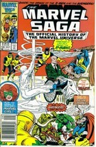 The Marvel Saga : The Official History of the Marvel Universe #10 (Marve... - $7.99