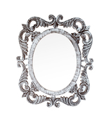 "Decorative & Hand Carved Indian Shabby Chic Victorian Mirror. size : 24""... - $118.83"