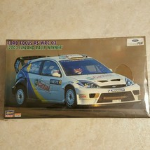 Hasegawa Model Ford Focus WRC 03 2003 Finland Rally Winner New Free Ship... - $49.50