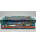 1999 Petty Racing Diecast Cars Transporter 50th Anniversary 1:64 Set #43... - $49.38