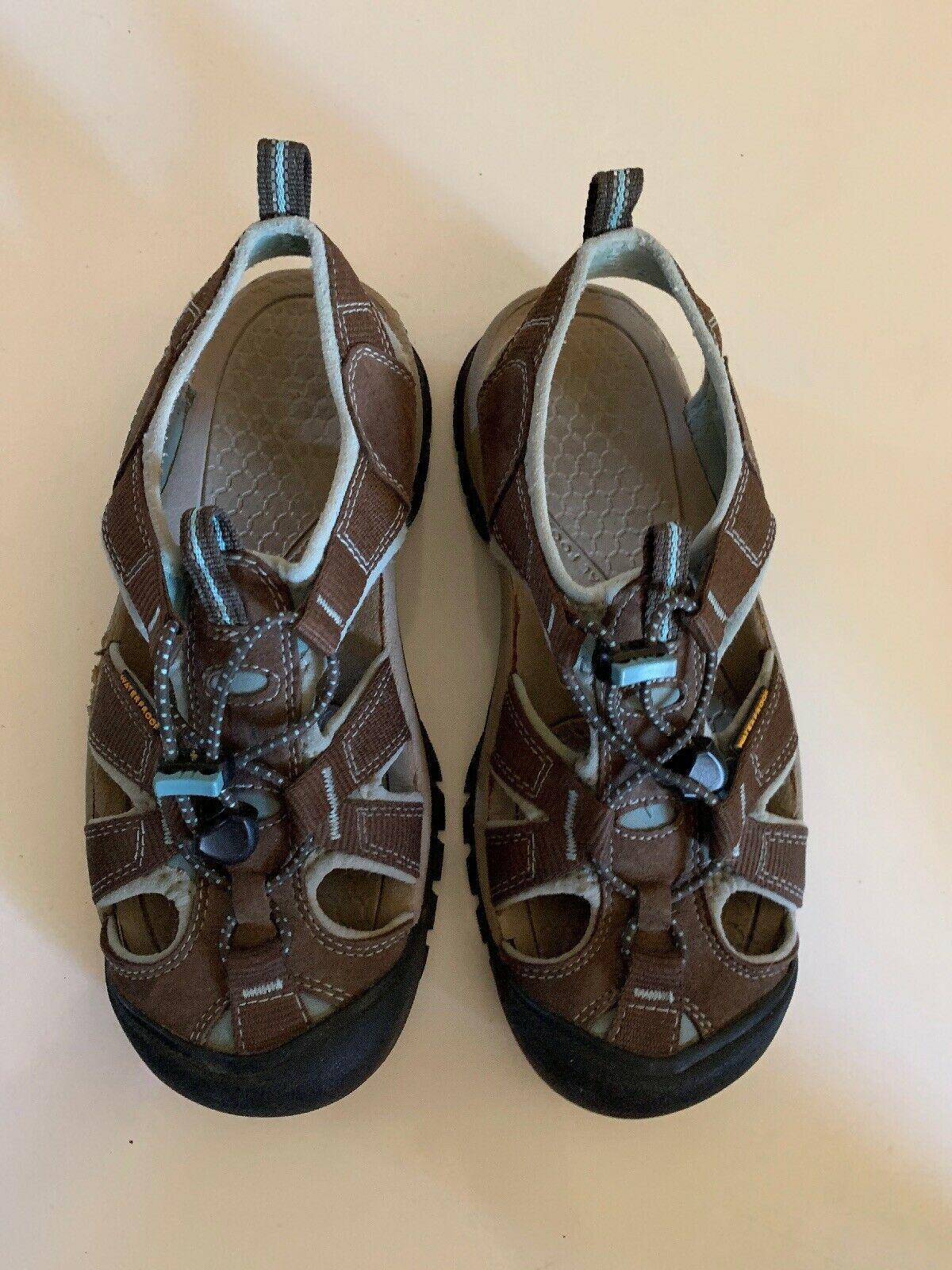 Women's Keen Sport Sandals Size 7 Water Shoes 1008020 Waterproof brown image 10