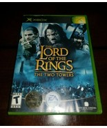 Lord of the Rings The Two Towers Microsoft Xbox EXMT **Inv03172** - $9.26