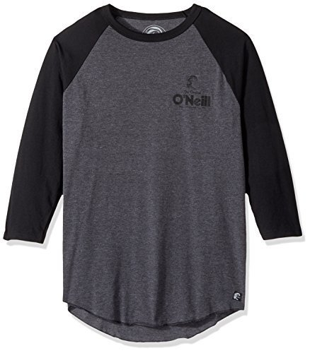O'Neill Men's Stickup Raglan, Grey/Black, 2XL