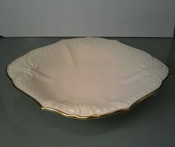 Lenox Candy Dish~ Ivory with Gold Trim~ Made In USA - $4.94