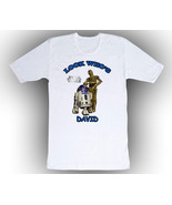 Personalized Star Wars R2D2 and C3PO Birthday T-Shirt  - $14.99