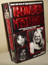 Unsolved Mysteries 25 Notorious Cases True Crime - $5.00