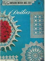 Doilies Lily Design Pattern Booklet No. 201 Vintage Crochet - $9.98
