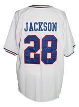 Bo Jackson #28 Memphis Chicks Custom Baseball Jersey White Any Size image 2