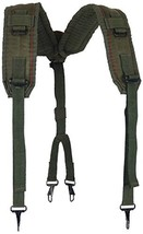 Military Outdoor Clothing Previously Issued US GI OD LC-2 Nylon Suspende... - $13.66