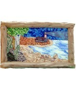 The Lighthouse: Quilted Art Wall Hanging - $385.00