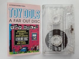 Toy Dolls A Far Out Disc 1991 rare cassette tape Europe Release Olga Mi... - $12.90
