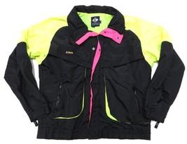 Multi-Colored Columbia Windbreaker Full Zip Up Jacket Adult Men's Size Large - $79.15
