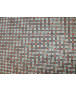 1 yd Windham Quilting Fabric Reproduction Cat in the Manor Brick Red Bro... - $8.79