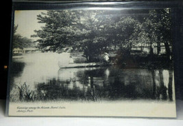 NJ176 Canoeing among the Islands Asbury Park NJ UNDB Postcard Not Posted EX - $3.32