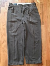 Brown Polo by Ralph Lauren 36 Men's Slacks Brown Men's Dress Pants 100% Cotton - $12.38