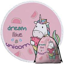 Dream Like a Unicorn Beach Towel - $12.32+