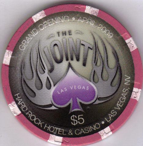 KENNY CHESNEY 4.25.09 $5 Hard Rock Hotel Vegas Casino Chip