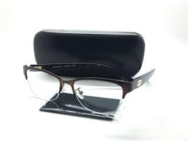 Coach Semi Rimless Eyeglasses HC 5066 9155 Satin Brown Tortoise   51-16-135 - $77.57