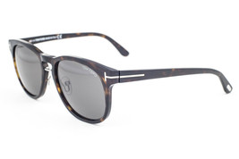 Tom Ford Franklin Dark Havana / Green Sunglasses TF346 56N - $195.02