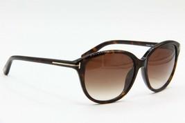 New Tom Ford Tf 329 52F Karmen Havana Gradient Authentic Sunglasses 57-16 - $205.70