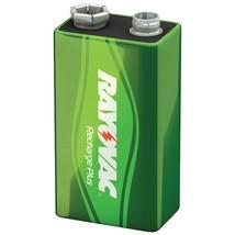 Rayovac Ready-to-use Rechargeable Nimh Batteries (9v; 200mah, Single) RVCPL1 - $25.81